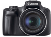 Canon - PowerShot SX50 HS 12.1-Megapixel Digital Camera - Black