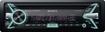 Sony - CD - Built-In Bluetooth - Satellite Radio-Ready In-Dash Receiver with Detachable Faceplate - Black