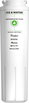 Whirlpool - EveryDrop 4 Ice and Water Filter - White