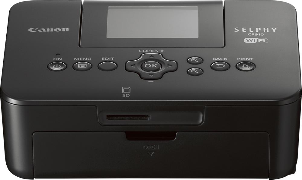 Canon - SELPHY CP910 Wireless Compact Photo Printer - Black