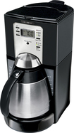 Mr. Coffee - Fttx95-1-rb 10cup Mr Coffee Programmable Appl Coffeemaker Thermal Carafe - Black 3856199