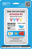 NET10 - BYOP SIM Activation Kit - Blue