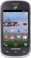 TRACFONE - Samsung Galaxy Centura No-Contract Cell Phone - Gray Blue