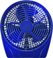 "Insignia™ - 9"" Table Fan - Blue"