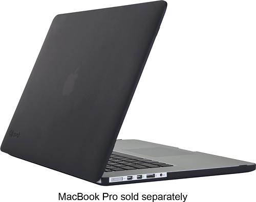 "Speck - SeeThru Satin Case for 15"" Apple® MacBook® Pro with Retina display - Black"