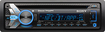 Sony - CD - Built-In Bluetooth - Car Stereo Receiver - Black