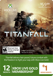 Microsoft - Xbox Live 12+1 Month Gold Membership - Titanfall - Multicolor