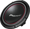 "Pioneer - 12"" Component Subwoofer with 1,300 Watts Max. Power - Black, Red"