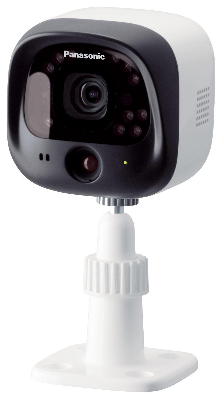 Panasonic - Add-On Surveillance Camera for KX-HNB600 Hub Unit - White/Black