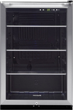 Frigidaire - 138-Can Beverage Center - Black