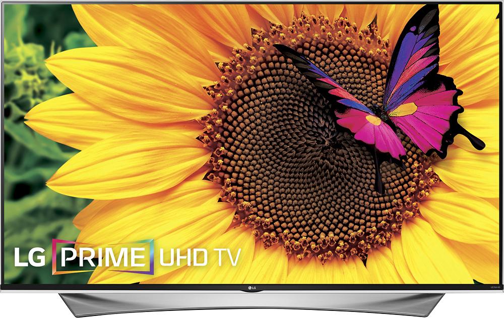 """LG - 65"""" Class (64.5"""" Diag.) - LED - 2160p - Smart - 3D - 4K Ultra HD TV - Black"""