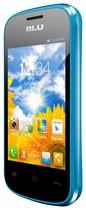 Blu - Dash Jr Cell Phone (Unlocked) - Blue