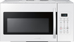 Samsung - 1.7 Cu. Ft. Over-the-Range Microwave - White