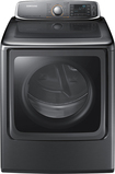 Samsung - 9.5 Cu. Ft. 15-Cycle Steam Electric Dryer - Platinum