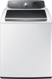 Samsung - 5.6 Cu. Ft. 15-Cycle High-Efficiency Steam Top-Loading Washer - White