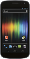 Samsung - Galaxy Nexus 4G with 32GB Memory Mobile Phone - Black (Verizon Wireless)
