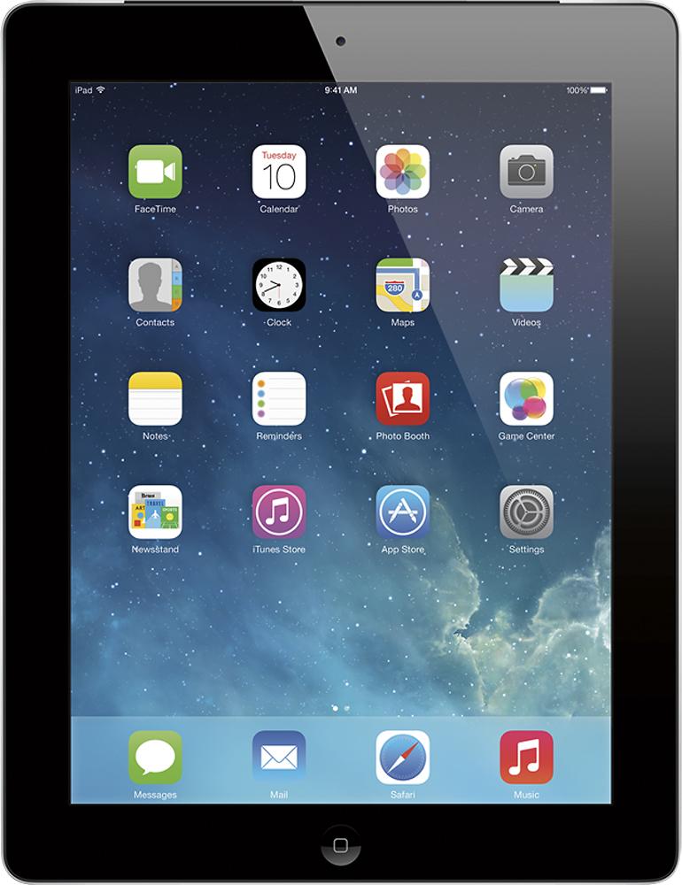 Apple - Ipad With Retina Display With Wi-fi + Cellular - 32gb - (verizon Wireless) - Black