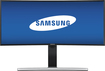 "Samsung - 29"" LED Curved HD 21:9 Ultrawide Monitor - Black"