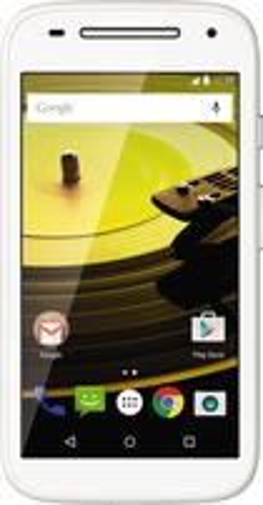 Motorola - Moto E (2nd Gen) UMTS with 8GB Memory Cell Phone (Unlocked) - White