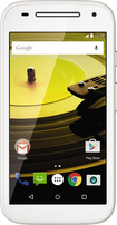 Motorola - Moto E (2nd Gen) AWS with 8GB Memory Cell Phone (Unlocked) - White