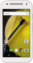 Motorola - Moto E (2nd Gen) 4G with 8GB Memory Cell Phone (Unlocked) - White