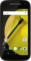 Motorola - Moto E (2nd Gen) 4G with 8GB Memory Cell Phone (Unlocked) - Black