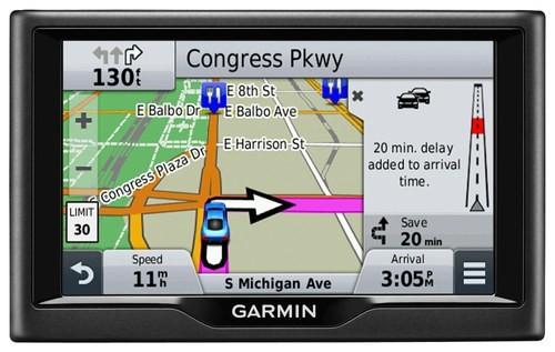 Garmin - nüvi 57LMT 5 GPS, Lifetime Map Updates and Lifetime Traffic Updates - Black