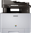 Samsung - Xpress C1860FW Wireless Color All-In-One Laser Printer - White/Black