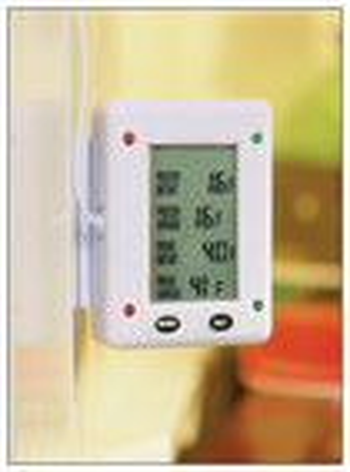 Maverick - Digital Refrigerator/Freezer Thermometer - White