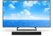 "Panasonic - 60"" Class (59-1/2"" Diag.) - LED - 1080p - Smart - HDTV - Bluetooth Soundbar Included - Black"