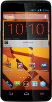 Boost Mobile - ZTE MAX 4G No-Contract Cell Phone - Black/Gray