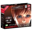 VisionTek - AMD Radeon HD 3450 512MB DDR2 PCI Graphics Card