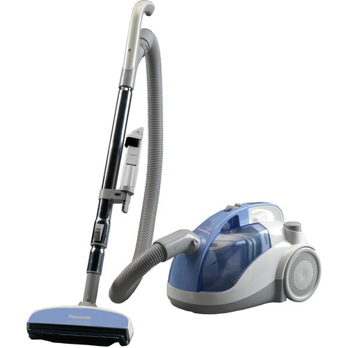 Panasonic - Canister Vacuum Cleaner - Light Blue