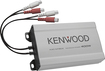 Kenwood - Power Pack 180W Class AB Multichannel Amplifier with Full-Range Crossover - Silver