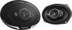 "Kenwood - Performance Series 6"" x 9"" 5-Way Car Speakers with Paper Cones (Pair) - Black"