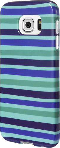 Insignia™ - Case for Samsung Galaxy S6 Cell Phones - Green/Blue