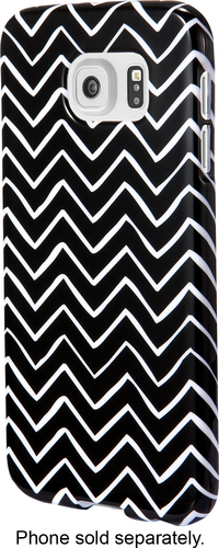 Insignia™ - Case for Samsung Galaxy S6 Cell Phones - Black/White