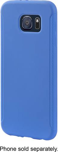 Insignia™ - Case for Samsung Galaxy S6 Cell Phones - Strong Blue