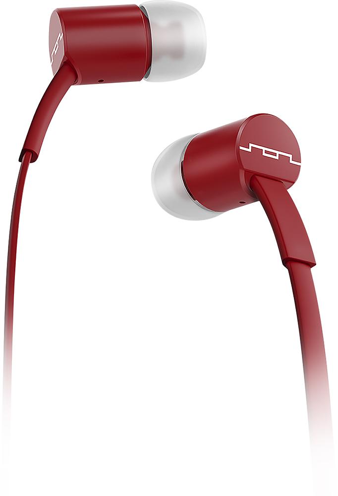 SOL REPUBLIC - JAX Earbud Headphones - Crimson