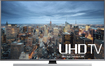 "Samsung - 55"" Class (54.6"" Diag.) - LED - 2160p - Smart - 3D - 4K Ultra HD TV - Silver/Black"