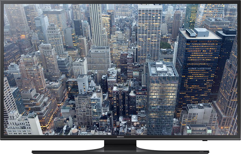 "Samsung - 55"" Class (54.6"" Diag.) - LED - 2160p - Smart - 4K Ultra HD TV - Black"