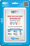 NET10 - SIM Card Kit for Unlocked GSM and CDMA Cell Phones - Multi