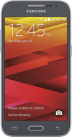 Samsung - Galaxy Core Prime 4G LTE with 8GB Memory Cell Phone - Charcoal Gray (Verizon Wireless)