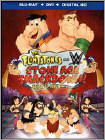 The Flintstones and WWE: Stone Age SmackDown (Blu-ray Disc) (2 Disc) (Enhanced Widescreen for 16x9 TV) (Eng/Fre/Spa/Por/Hindi) 2015