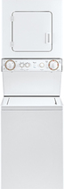 Whirlpool - 1.5 Cu. Ft. 5-Cycle Washer and 3.4 Cu. Ft. 4-Cycle Dryer Electric Combo - White-on-White