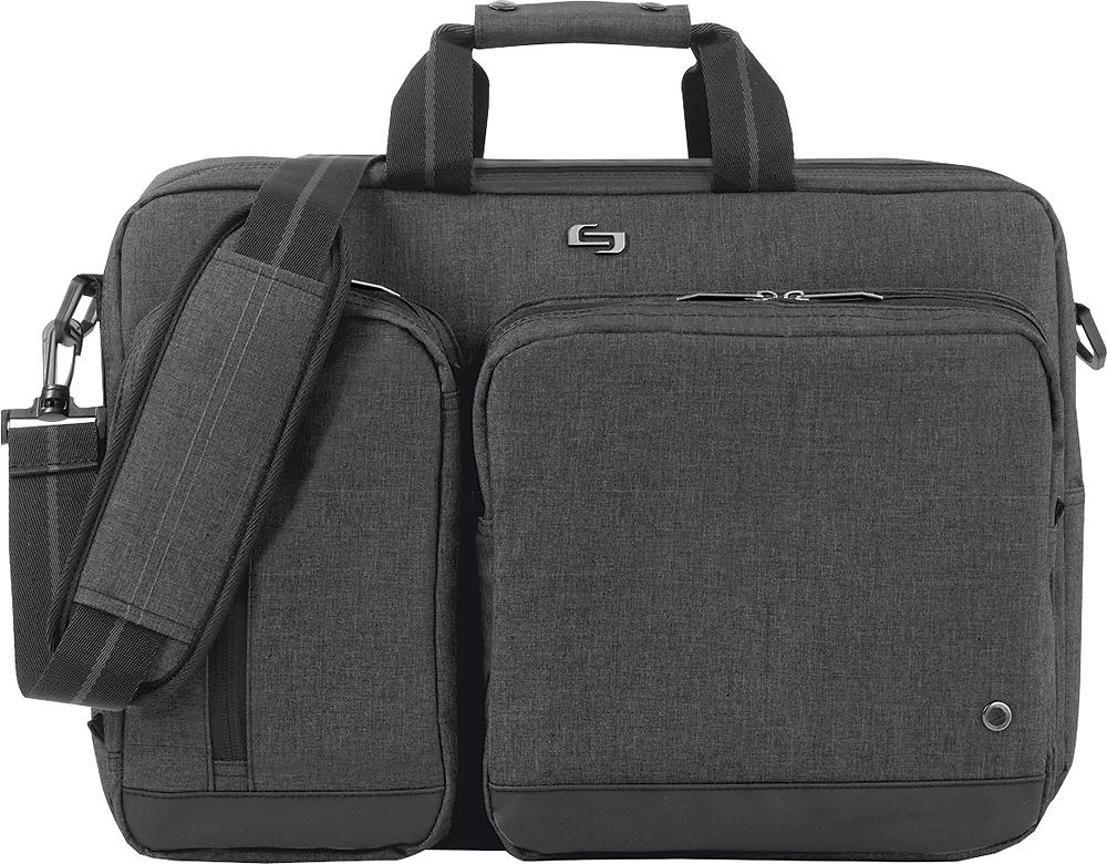 Solo Urban Convertible Laptop Briefcase Backpack Gray UBN310-10 ...