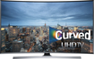 "Samsung - 78"" Class (78"" Diag.) - LED - Curved - 2160p - Smart - 3D - 4K Ultra HDTV - Silver"