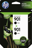 HP - 901 2-Pack Ink Cartridges - Black