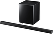 "Samsung - 2.1-Channel Soundbar with 6-1/2"" Wireless Subwoofer - Black"
