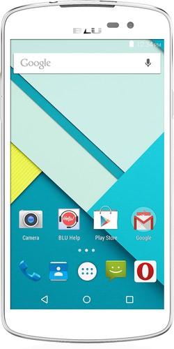 BLU - Studio X Plus 4G with 8GB Memory Cell Phone (Unlocked) - White